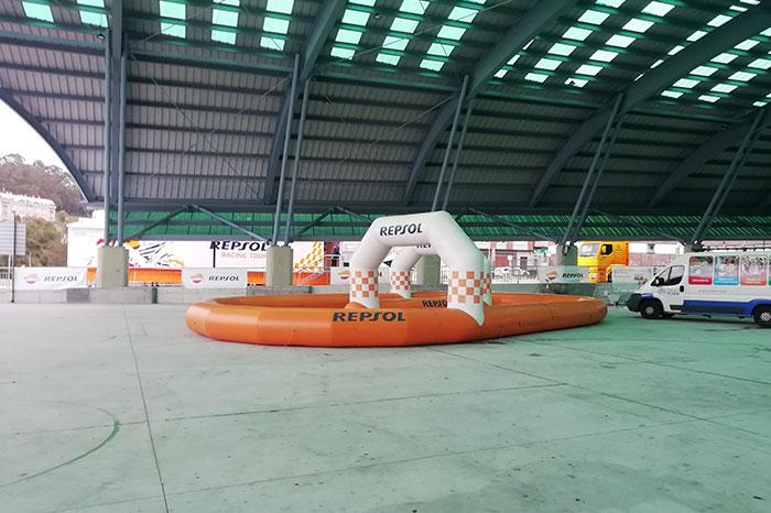 Exposición de Repsol Racing Tour en Arteixo