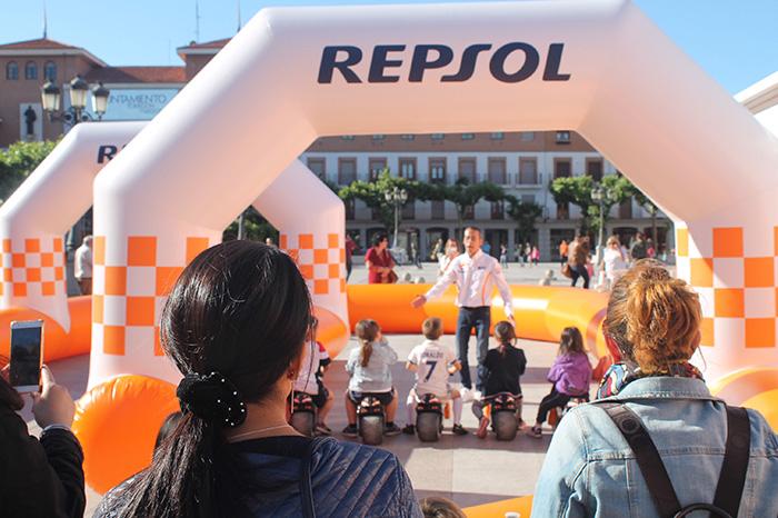 Exposición de Repsol Racing Tour en Cartagena